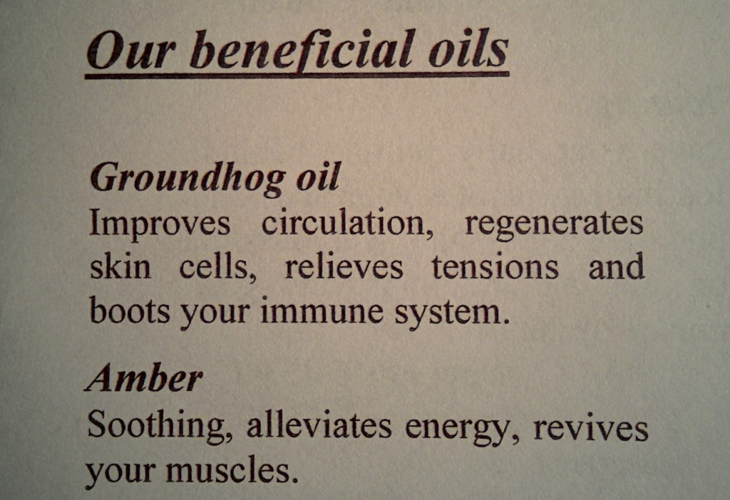 groundhog oil leaflet