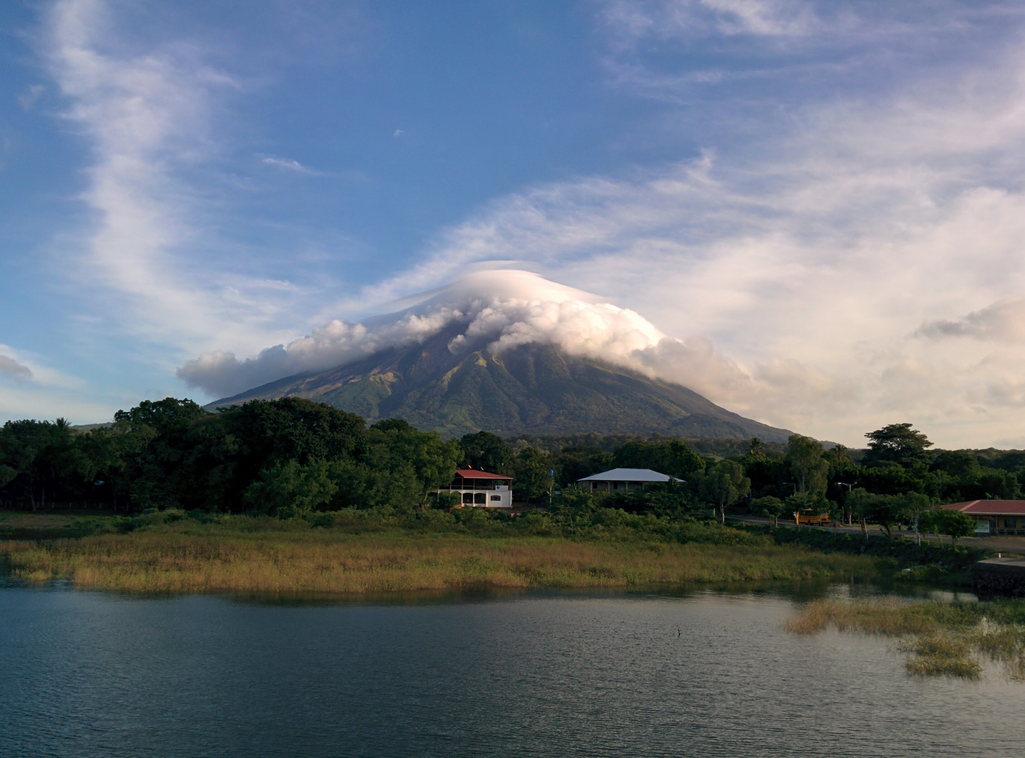 volcano on ometepe island